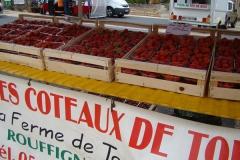 Iedere woens- & zaterdag verse streekproducten op de markt van Sarlat