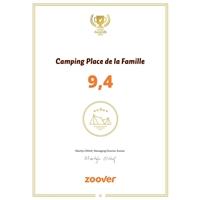 Zoover Award Place de la Famille